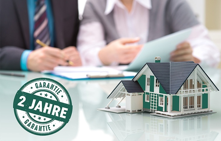 2 Jahre Garantie für Immobilien in Kreuzlingen